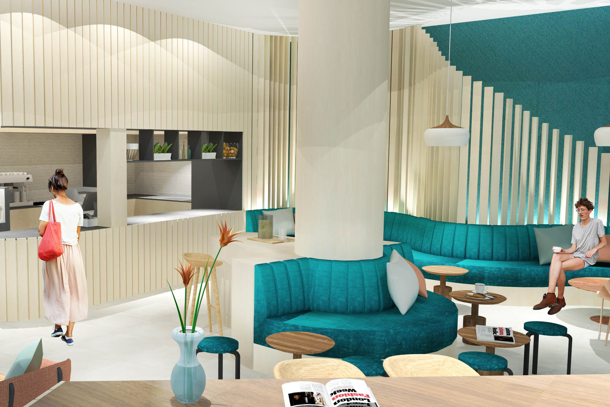 Sydney Design School, SketchUp, Interior Design