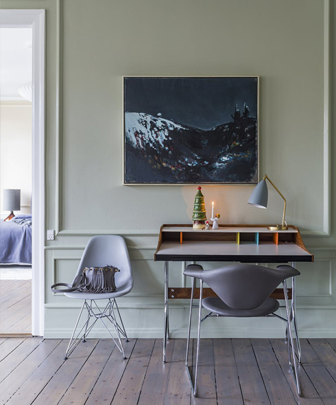 Sage interiors - new trend for 2018