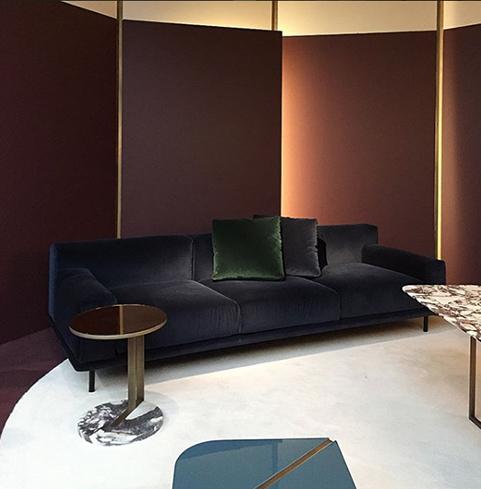 Interiors trends: velvet upholstery