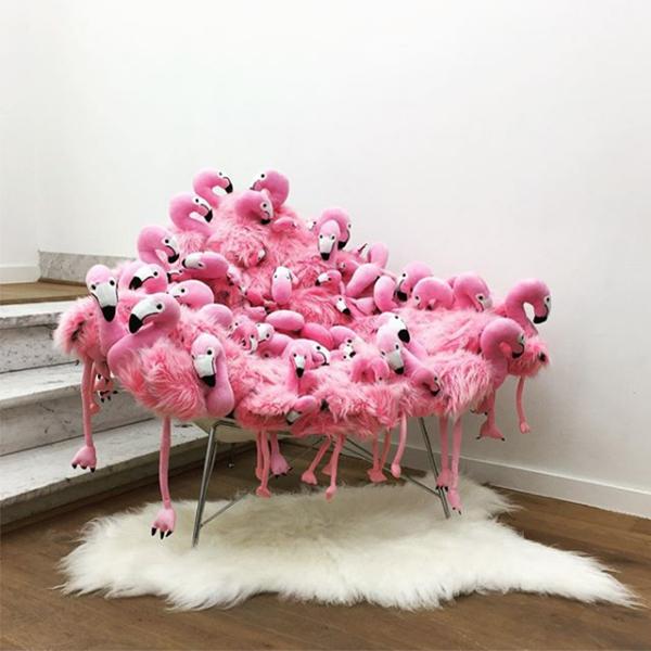 Flamingo chair at MAISON&OBJET