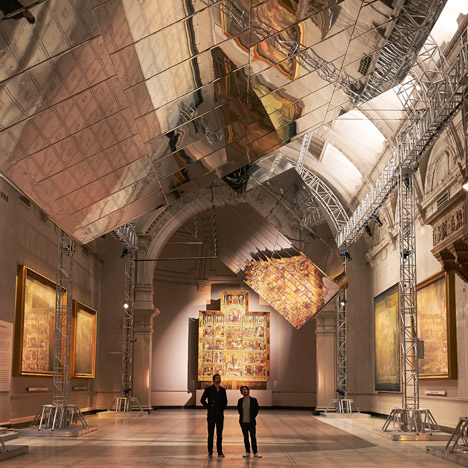 V&A installation at London Design festival
