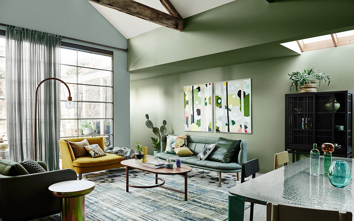 Dulux Colour Forecast 2020. Global colour trends and interiors styles