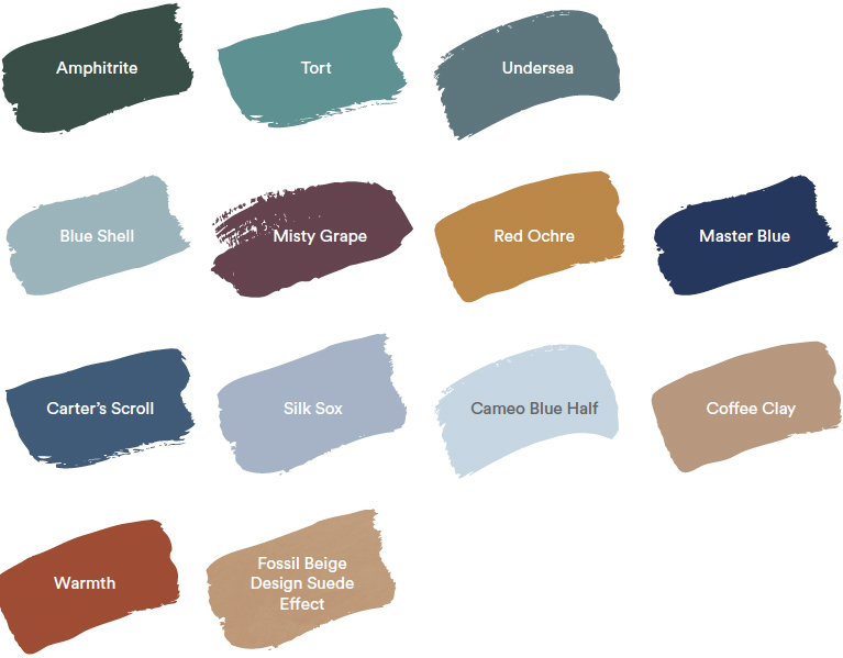 Dulux Colour Forecast 2020. Global colour trends - Comeback palette