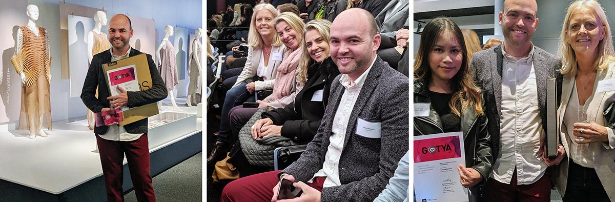 Two Sydney Design School graduates were shortlisted for the 2019 GOTYA Awards - the Design Institute of Australia's flagship program for emerging designers