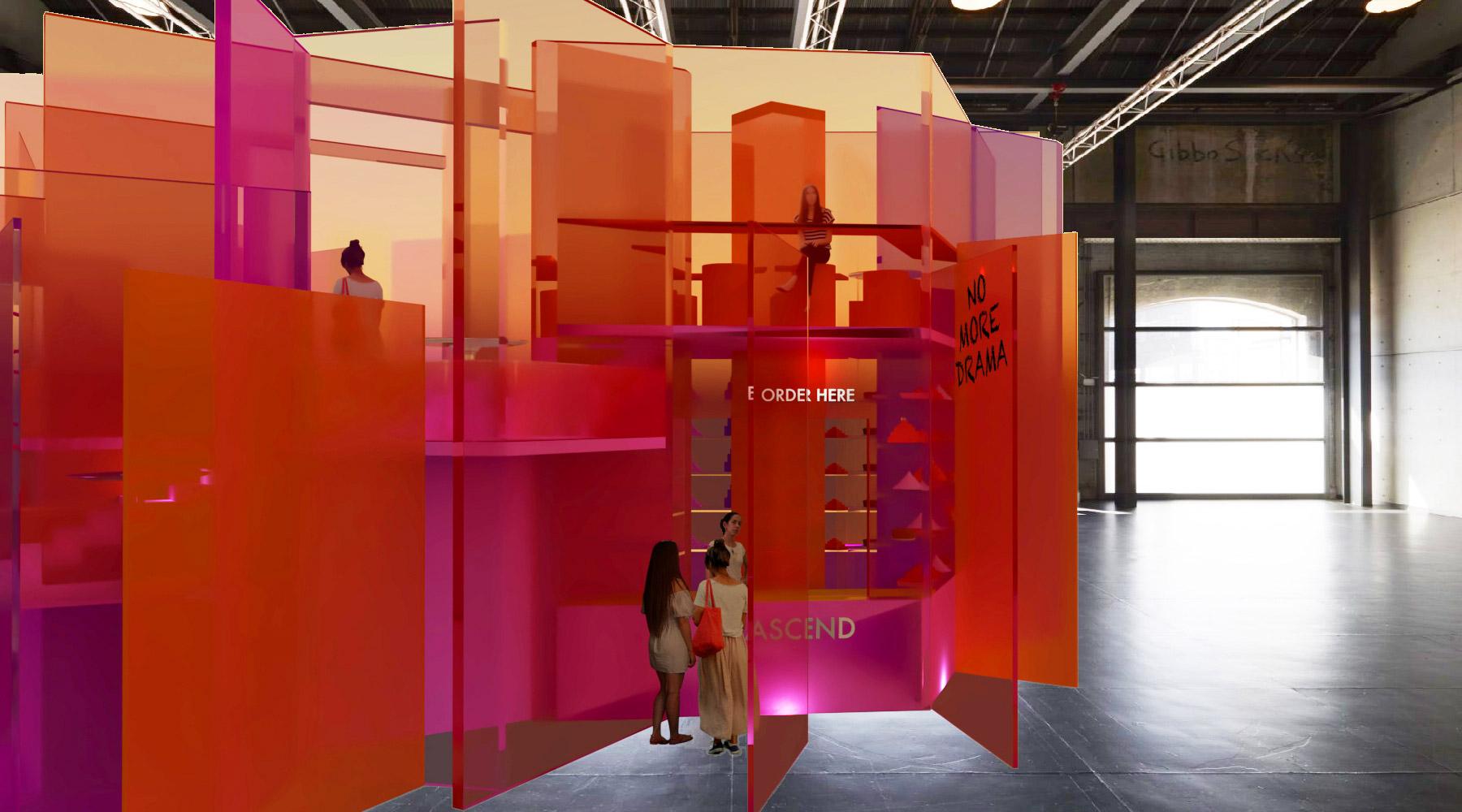 Louise Mackay Sydney Design School student finalist - Dulux Colour Awards 2020