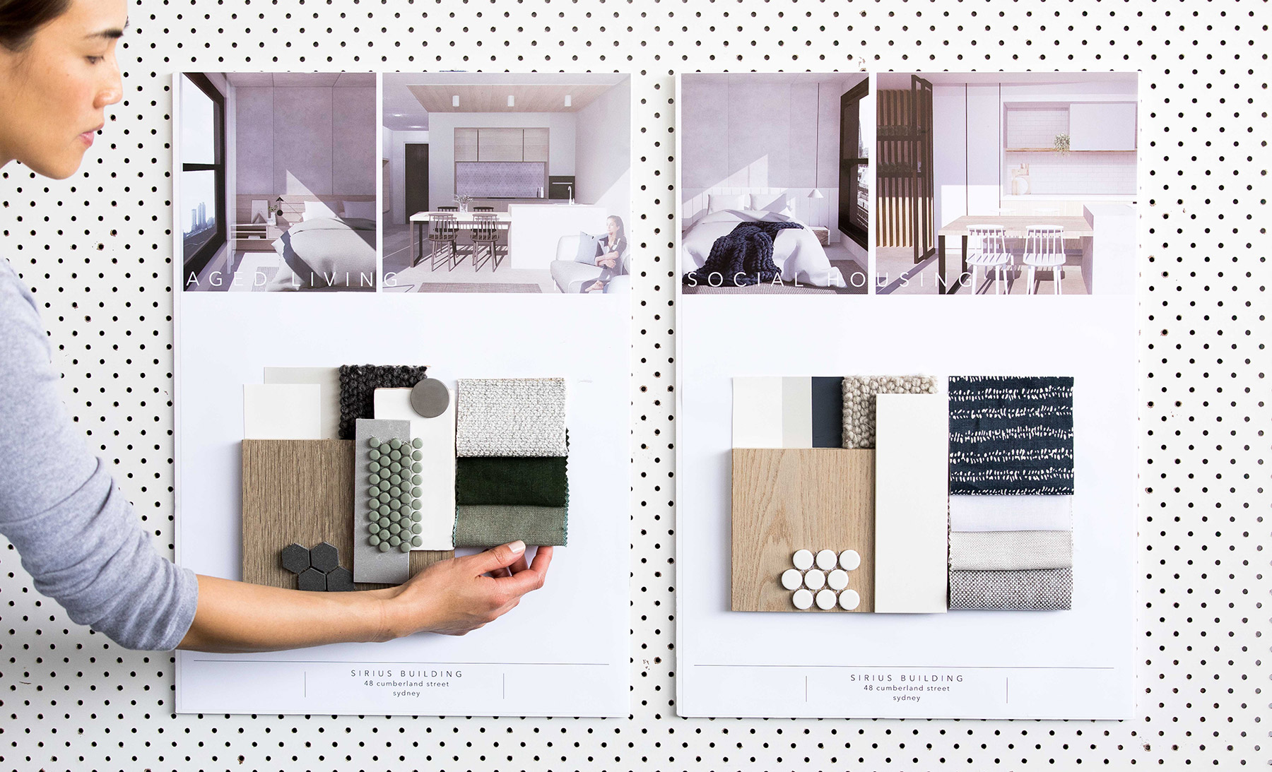 Advanced Diploma of Interior Design, Sydney Design School. Student work - Kelsie Sibley